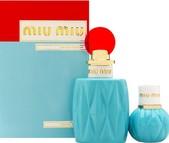 Miu Miu Gift set 100ml eau de parfum spray + 20ml eau de parfum spray