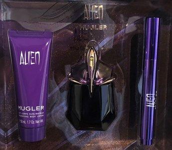 Mugler Alien gift set 30 ml eau de parfum +10 ml edp + 50 ml body lotion
