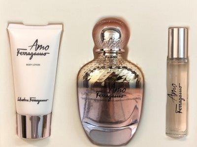 Salvatore Ferragamo Amo Gift Set 100 ml eau de parfum + 10 ml edp mini + 50 ml body lotion
