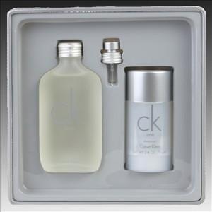 Ck One gift set 100 ml eau de toilette + 75 ml deodorant stick