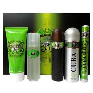 Cuba Green Must Have For Men Gift Set