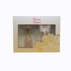 Christina Aguilera Women gift set 30ml eau de parfum + 50ml body lotoin