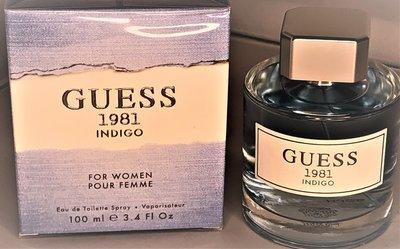Guess 1981 Indigo For Women Eau de Toilette Spray 100 ml